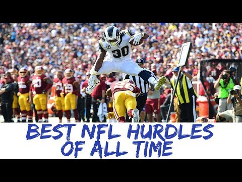 NFL Best Hurdles Compilation 2018 All Time Greatest