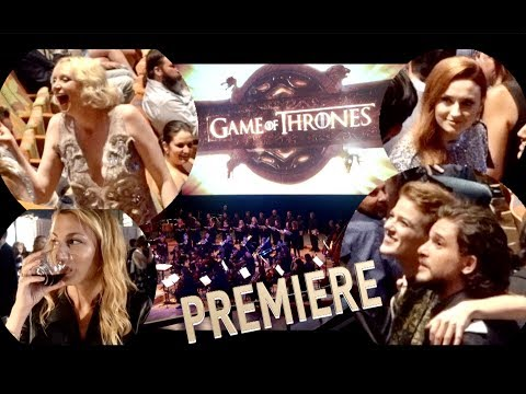 Vlog Why Game Of Thrones Premiere And After Party Season