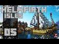 Minecraft Timelapse - Helmfirth Isles - 05 - Vuwth Harbor