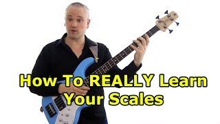 How To REALLY Learn Your Scales -  Spelling Drills