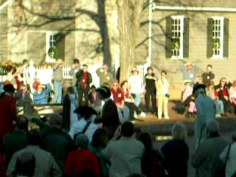 Colonial Williamsburg Reanactment Video