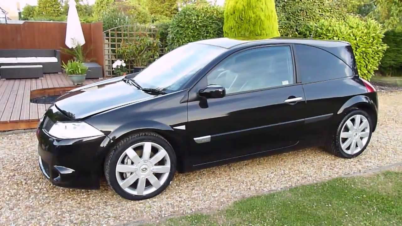 video review of 2005 renault megane renaultsport 225 for sale sdsc specialist cars cambridge. Black Bedroom Furniture Sets. Home Design Ideas