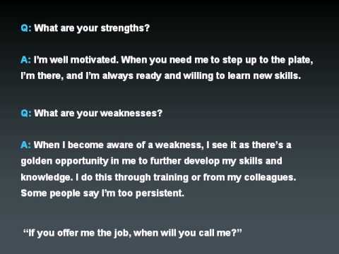 How To Be Successful In Any Job Interview