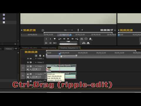 How to Edit Video using Premiere Pro