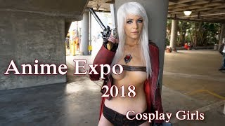 Anime Expo 2018 Cosplay Girls - Part 2 [Cosplay Music Video]