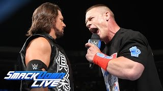 AJ Styles issues a huge SummerSlam challenge to John Cena: SmackDown Live, Aug. 2, 2016