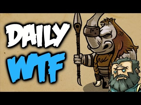Dota 2 Daily WTF - Midlane things