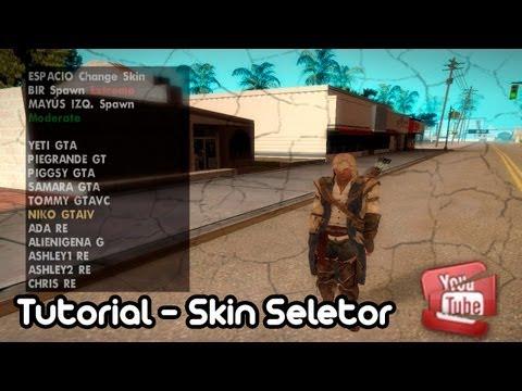 Como Descargar e Instalar Skin Selector + Como Usarlo + Como Agregar Skins (Bien