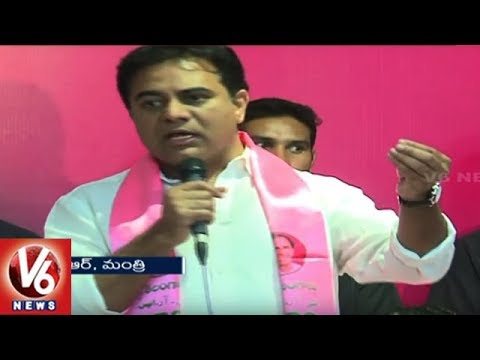 KTR Welcomes Secunderabad Arya Vysyas Into TRS, Assures Welfare Of Poor In Higher Castes | V6 News