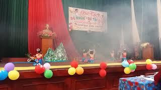 múa dân ca ba miền hội thi bé tài năng