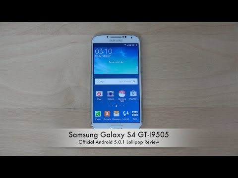 Samsung Galaxy S4 GT-I9505 Official Android 5.0.1 Lollipop Review (4K)
