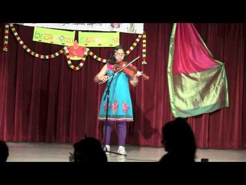 Vidyashree Jayanti   Violin   Mungaru Male Song
