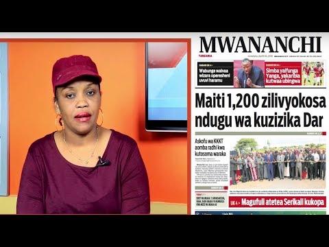 MCL MAGAZETINI, APRIL 30, 2018: MAITI 1,200 ZILIVYOKOSA NDUGU WA KUZIZIKA DAR