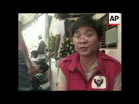 1000 deported from Malaysia arrive in Zamboanga