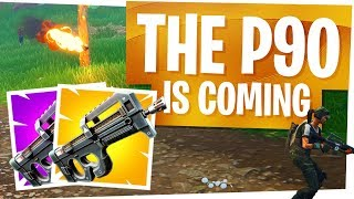 The P90 is FINALLY coming to Fortnite! - NEW Epic & Legendary Compact SMG - SMG Meta