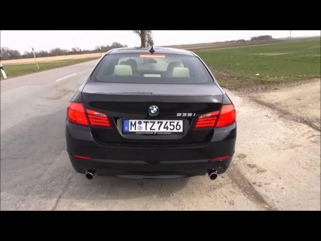 BMW 535i F10 Test Drive - YouTube