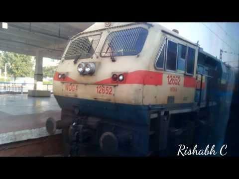 TRAIN JOUNEY TO HYDERABAD(BANGALORE EXPRESS)