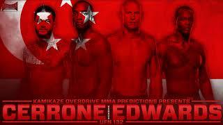 UFC Fight Night 132: Cerrone vs Edwards Predictions- Kamikaze Overdrive MMA