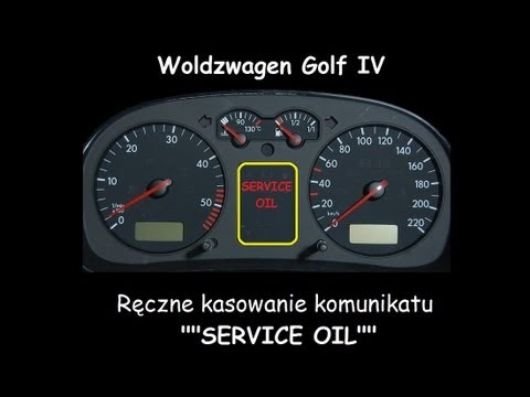 vw golf iv reset manual oil service indicator kasowanie inspekcji woldzwagen inspection youtube. Black Bedroom Furniture Sets. Home Design Ideas