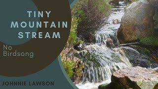 Nature Sounds-Soothing Waterfall Natural Sound for Sleeping-Calm & Relaxing Water W/O Birds Singing