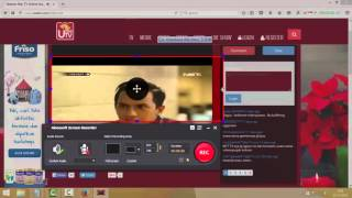 how to record an online tv in PC