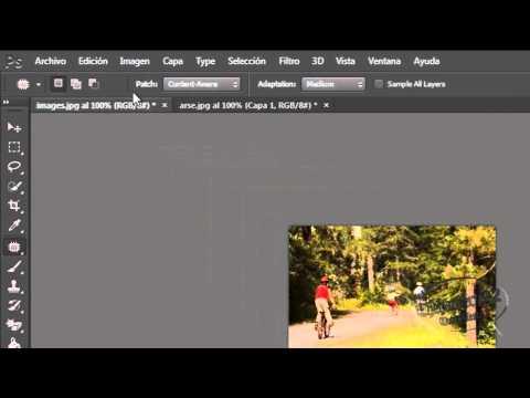 Curso Basico De Photoshop Capitulo 8: Herramienta Pincel Corrector Puntual Y sus Subherramientas