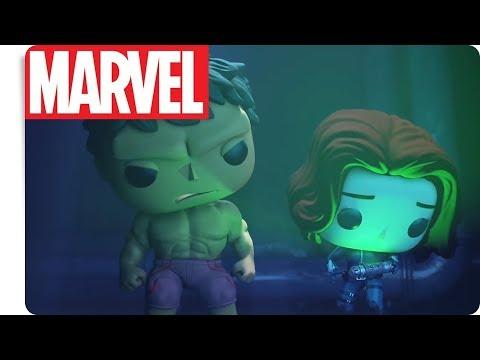 FUNKO - Hulk & Black Widow: Tick Tick Smash   NEU auf Marvel HQ Deutschland