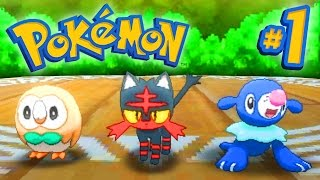Pokemon SUN and MOON Episode 1 - Walkthrough Part #1 - LIVE w/ Ali-A!