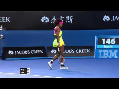 What a shot! Serena Williams (Final) - Australian Open 2015