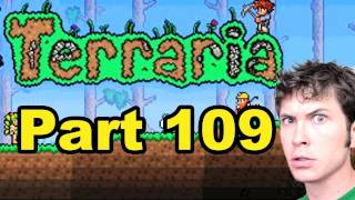 Terraria - DUNGEON MASTER FAIL - Part 109