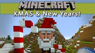 Minecraft Epic XMAS & New Years Celebrations + Fan Server Secret Santa!