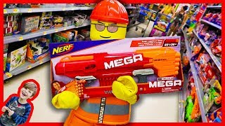 LEGO BOY gets a NERF GUN! + Monster Trucks in the Mud