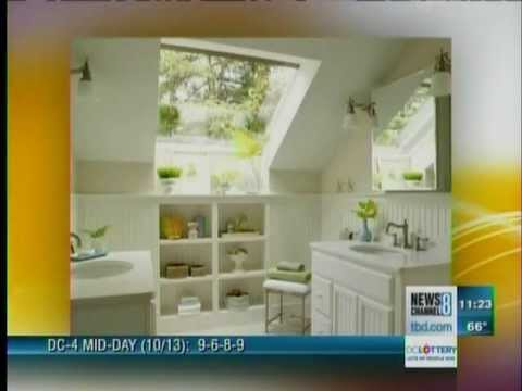 Big Ideas For Small Bathrooms Youtube Home Design