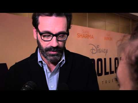 Million Dollar Arm - Jon Hamm red carpet interview