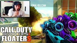 I HIT A BO2 FLOATER TRICKSHOT WITH MODDED CHAMELEON CAMO!