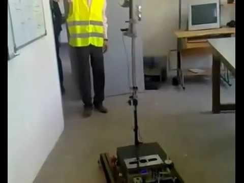 ESCALADE360 روبوت مغربي  يستطيع تتبع هدف تلقائياً