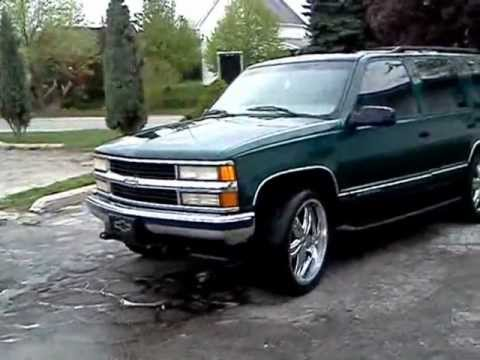 Chevrolet Tahoe 1999 >> 99 tahoe on 24's - YouTube