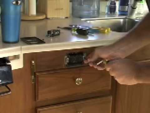 Changing an RV electric plug