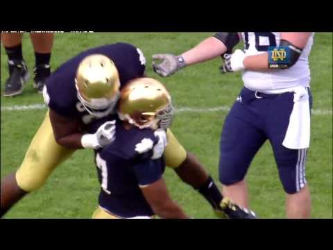 Stephon Tuitt 2012 Highlights - Notre Dame Football