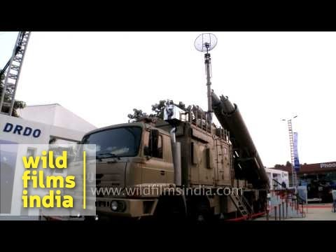 Arjun Mk II and Catapult battle tank by DRDO