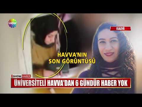 Üniversiteli Havva'dan 6 gündür haber yok
