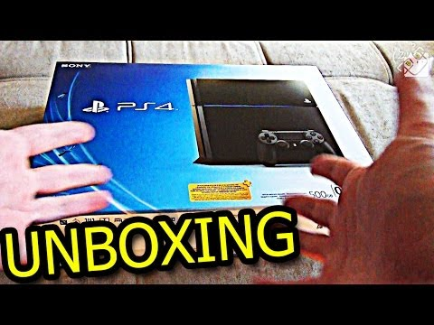Распаковка PlayStation 4 - ЗАПАХ NEXT-GEN'А!