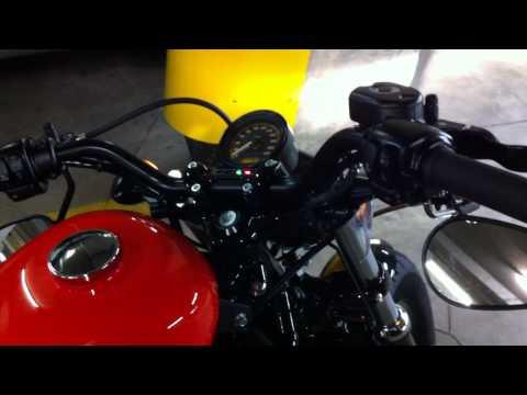 2012 harley sportster 48 - vance&hines+quiet baffle