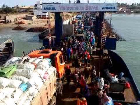 Hustle and bustle on the Banjul to Barra Ferry, The Gambia