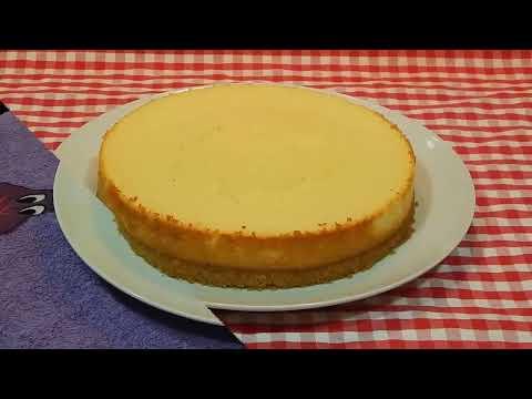 Cómo hacer tarta de requesón al horno / Receta fácil