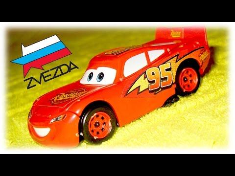 Cars Lightning McQueen Model Kit Zvezda