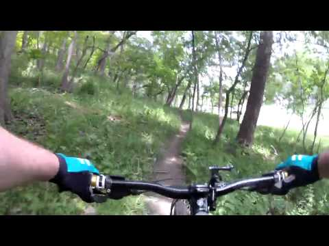 Jewell Park - Mountain Biking - Bellevue, NE