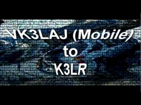 VK3LAJ Mobile to K3LR on 20 Meters (Tarheel M75)