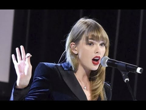 Taylor performs delicate # Ally Coalition event