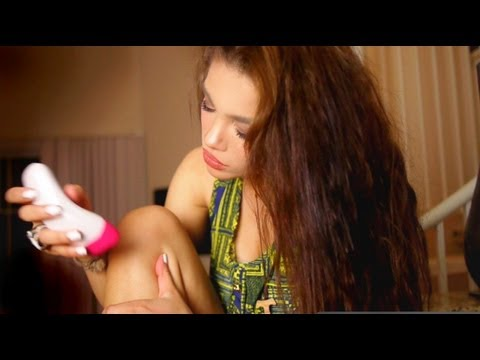 HOW TO: Remove hair with an EPILATOR!!!!